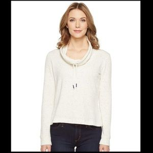 Splendid Confetti Active Funnel Neck M heather